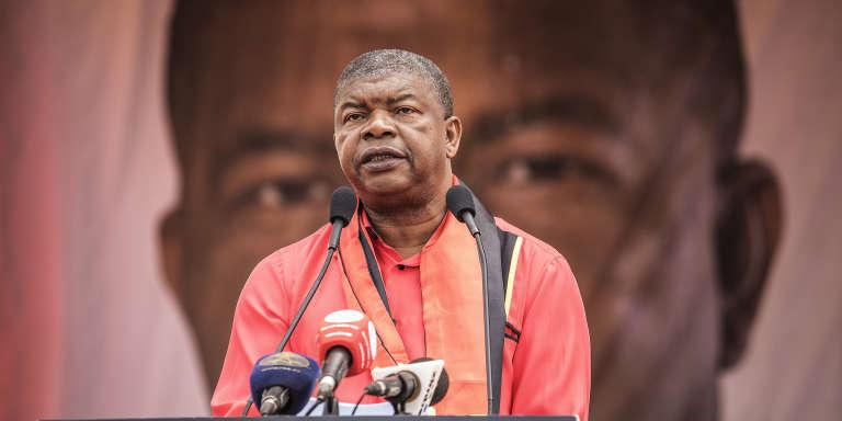 Le président angolais Joao Lourenço, lors de la campagne en août 2017.