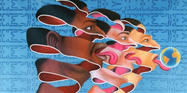 « Nezumi», du peintre congolais Chéri Samba.