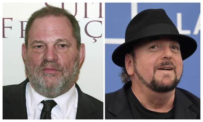 Harvey Weinstein, à gauche, et James Toback.