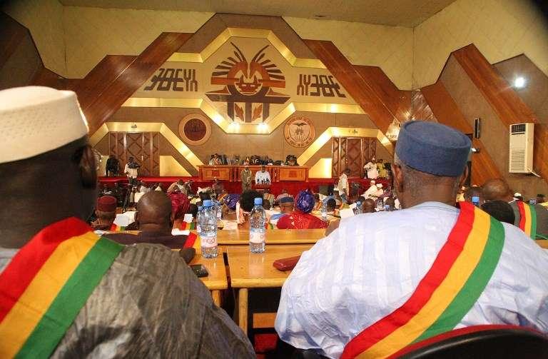 Le député Adbrahamane Niang a été victime d'une attaque dans la région de Mopti le 31 octobre 2017. Ici, l'Assemblée nationale malienne en 2014.