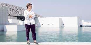 L'architecte libanaise Hala Wardé, le 30 octobre, à Abou Dhabi.