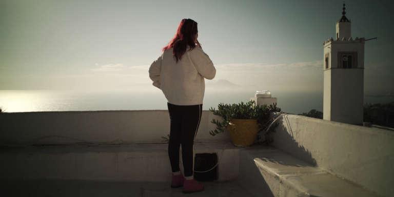 Fatma, victime de violences sexuelles en Libye et aujourd'hui réfugiée en Tunisie.
