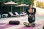 Sibylle Grandchamp, fondatrice de Merveilles, organise une retraite « Yoga et randonnée»de quatre jours dans les Alpilles.