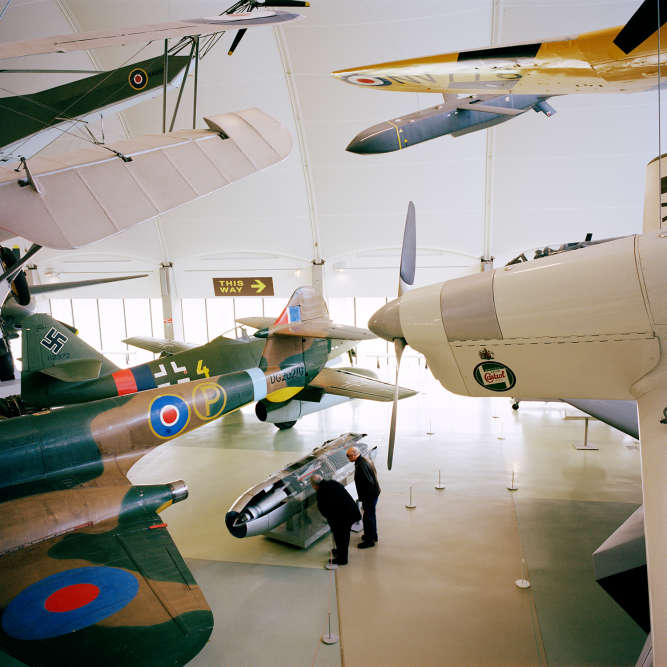 « Royal Air Force Museum », Londres, 2015.