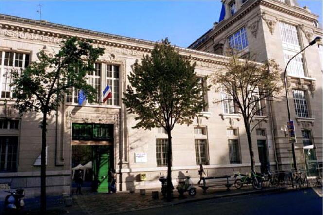 Le bâtiment principal de l'Ecole supérieure de commerce de Paris (ESCP). ( photo d'illustration)