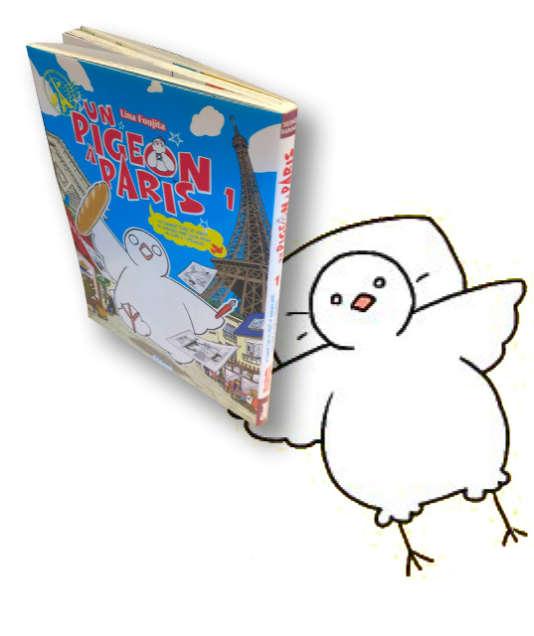 « Un pigeon à Paris» est sorti en octobre aux éditions Glénat.