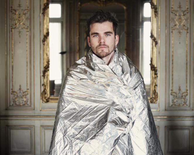 Baptiste Amann, auteur et metteur en scène, à Paris, en octobre 2017.