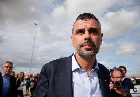 L'ancien ministre de l'entreprise catalan, Santi Vila.