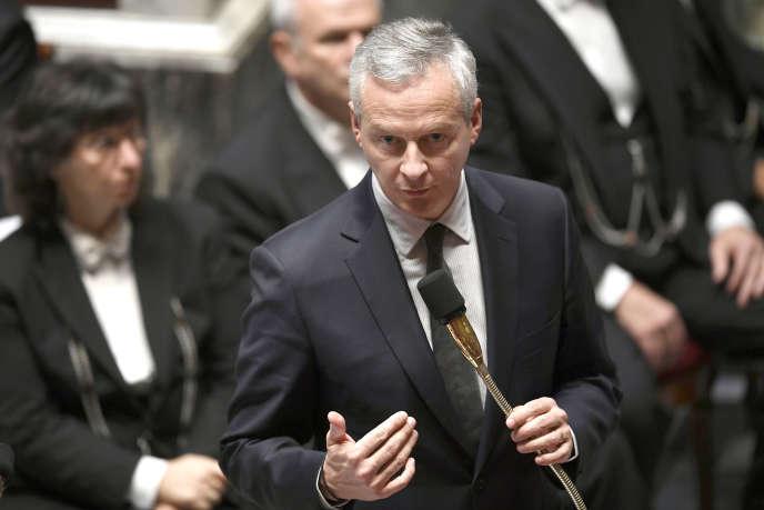« Je réponds à un risque budgétaire majeur par une solution responsable», s'est défenduBruno Le Maire (ici à l'Assemblée nationale le 31 octobre).