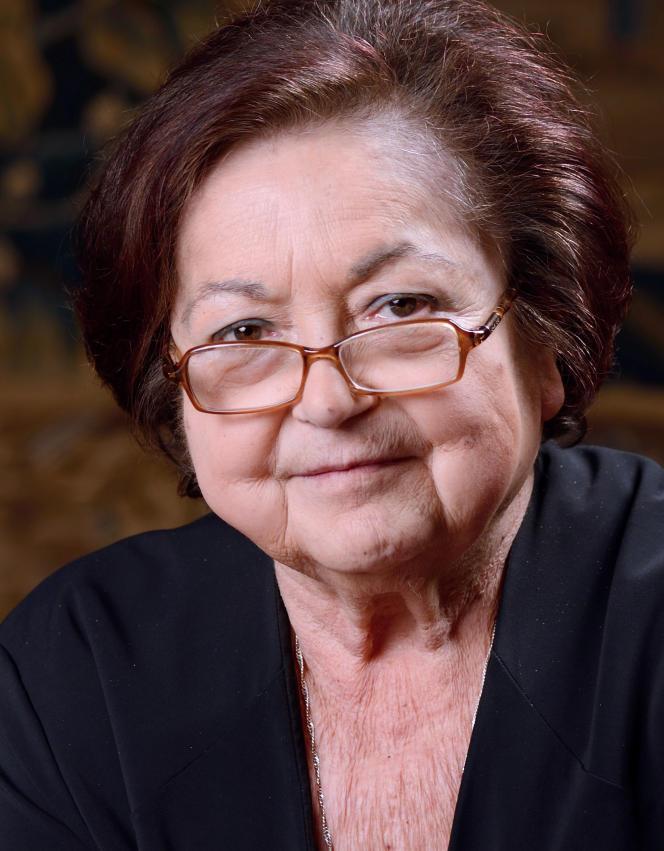 Françoise Héritier, à Paris, en mars 2013.