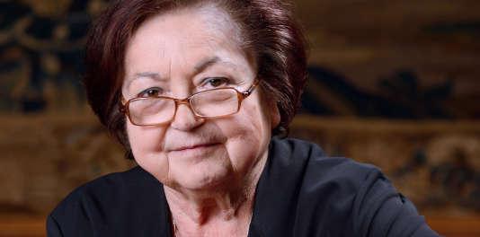 Françoise Héritier, le 28 février 2013.