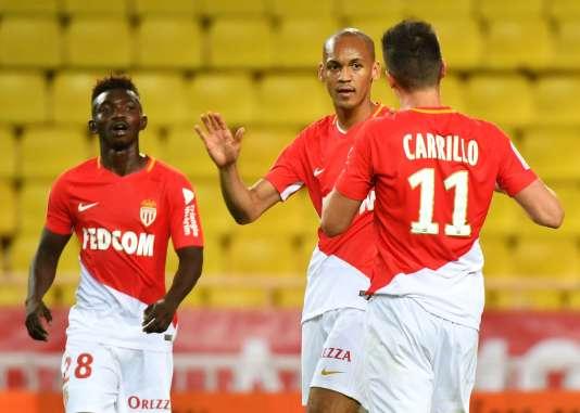 Carillo, Fabinho et Traore ont marqué pour Monaco face à Guingamp.