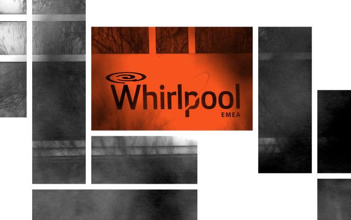 A l'entrée de l'usine Whirlpool d'Amiens.