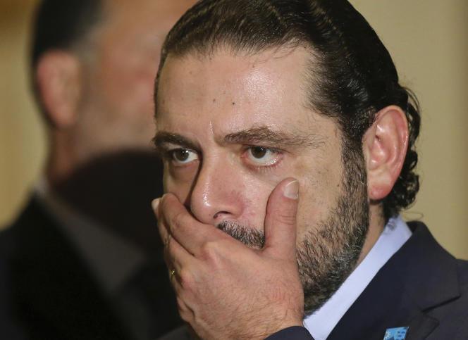 Saad Hariri, le 20 octobre 2016.