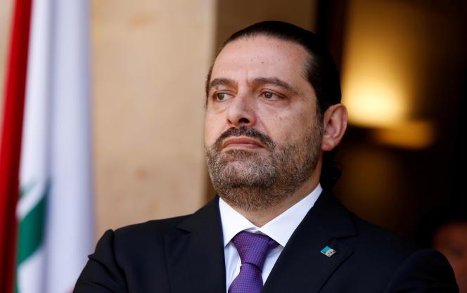 Le premier ministre libanaisSaad Hariri, le 24 octobre à Beyrouth.