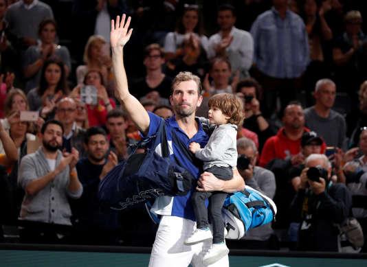 Julien Benneteau n'est pas parvenu à se hisser en finale du Masters 1000 de Paris.