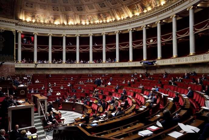 A l'Assemblée nationale, le 25 octobre.