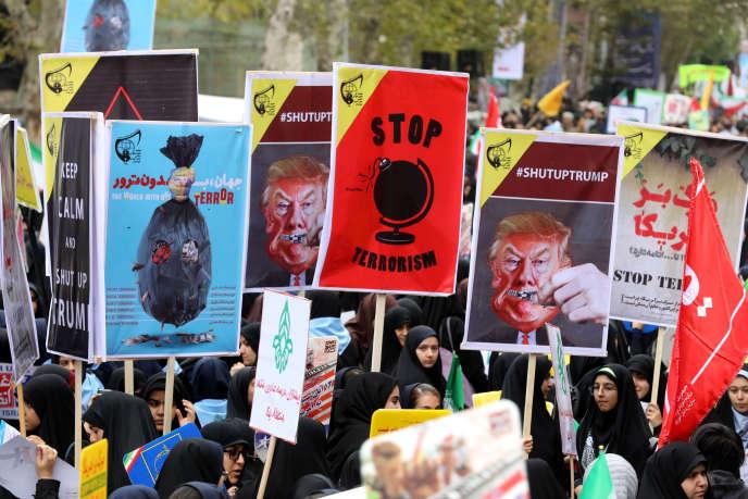 Selon le secrétaire du Conseil suprême de la sécurité nationale, Ali Shamkhani, « cette année, la politique anti-iranienne de Trump a mobilisé davantage les Iraniens ».