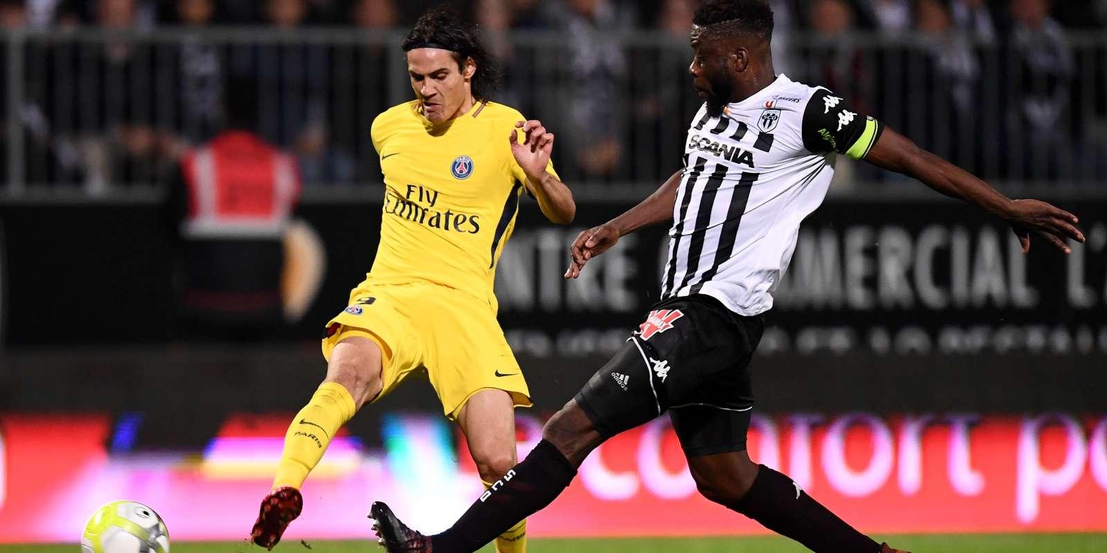 Face à Angers, Edinson Cavani a inscrit son 100e but sous le maillot parisien.