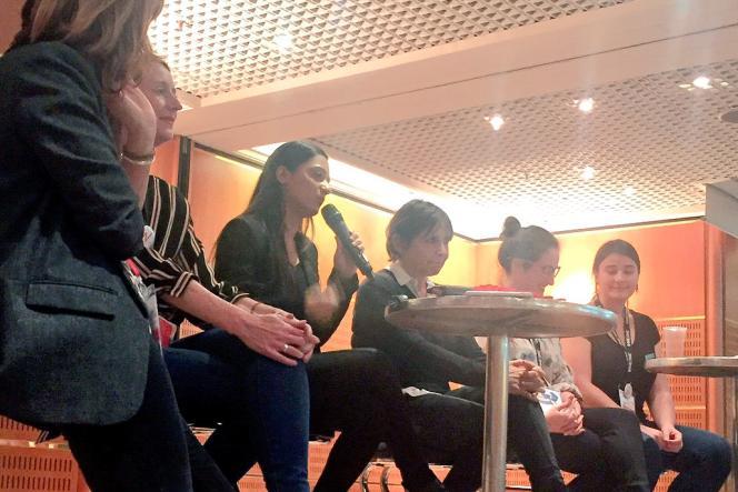 Dipty Chander (Epitech, Microsoft) exorte les femmes à s'engager dans l'industrie du jeu vidéo et les nouvelles technologies.