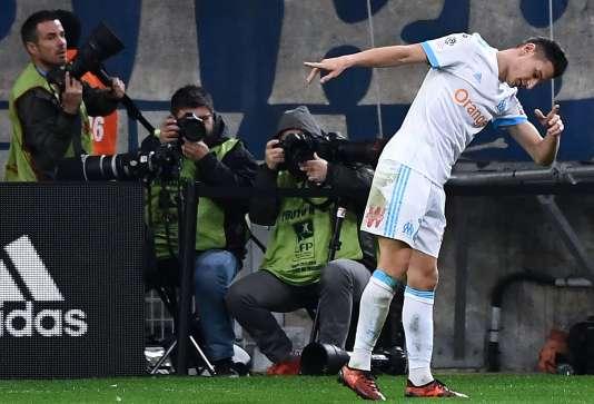 Florian Thauvin a inscrit un doublé lors de la large victoire de Marseille face à Caen.