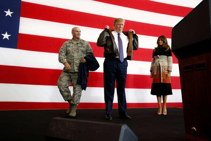 Le président Trump a annoncé fin octobre le retrait des Etats-Unis du traité sur les armes nucléaires de portée intermédiaire (INF), bannissant les missiles nucléaires d'une portée allant de 500 à 5000kilomètres, conclu avec la Russie en1987.