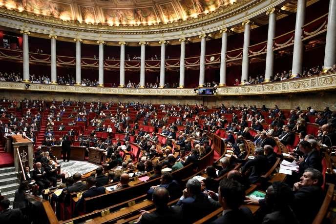 A l'Assemblée nationale, le 31 octobre.