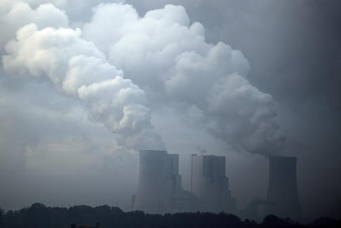 Une centrale à charbon près de Hoeningen, en Allemagne, le 6 novembre.