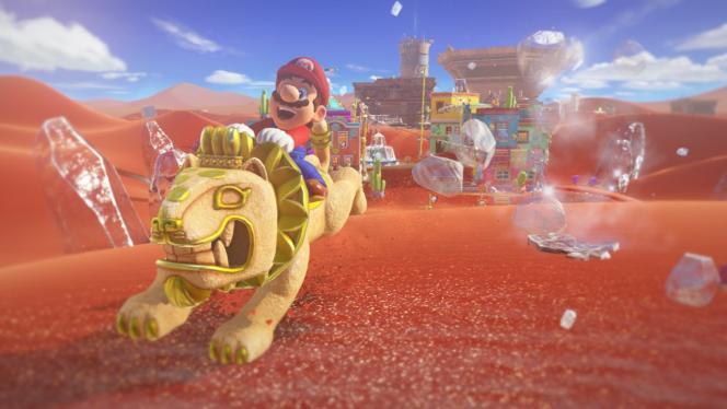 En France,« Super Mario Odyssey» et« Assassin's Creed Origins» ont dépassé 150000ventes au lancement.