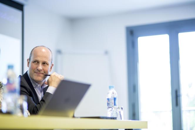 Yann Marteil, président de Smovengo, en mai, à Paris.