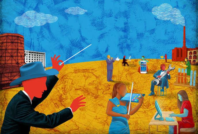 Dans le vaste orchestre de l'économie mondiale, chacun peut jouer sa propre partition...