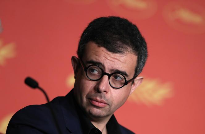 Le producteur de cinéma franco-tunisien Saïd Ben Saïd lors de la présentation à Cannes en mai2016 du film«Elle», de Paul Verhoeven, l'une de ses productions.