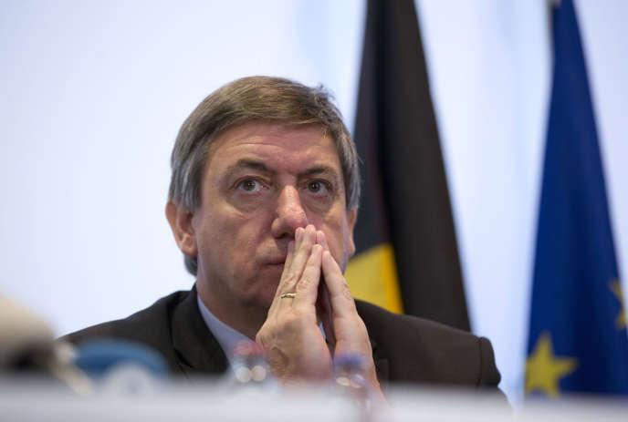 Le ministre belge de l'intérieur, Jan Jambon, à Bruxelles en novembre 2015.