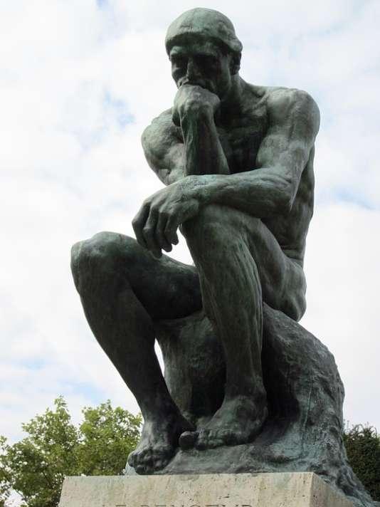 « Le penseur», de Rodin.