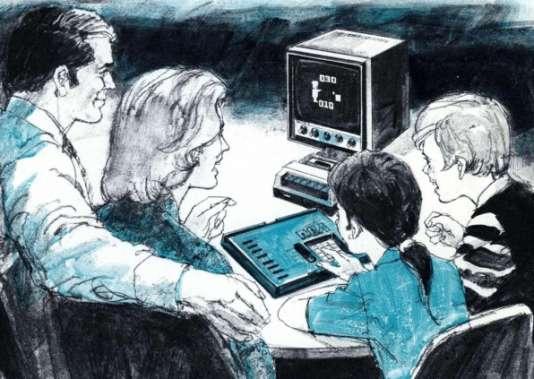 Publicité de RCA pour le Cosmac VIP, ordinateur personnel sur lequel Joyce Weisbecker a programmé ses premiers jeux, à 16 ans, en 1975.