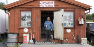 Orjan Nilson runs a a souvenir store on the Storskog border crossing, and organizes quad tours. Storskog is the only offical border crossing between Norway and Russia, and is the northernmost European border post with Russia.