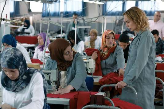 Sandrine Bonnaire dans le film français de Gaël Morel,« Prendre le large».