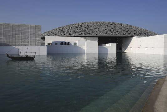 Le Louvre Abu Dhabi en novembre 2017 lors de son inauguration.