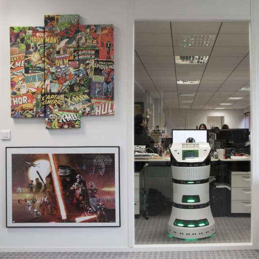 Le robot Diya One a trouvéses premiers clients, dont les Galeries Lafayette, la SNCF ou encore Engie, mais il n'est pas encore rentable.