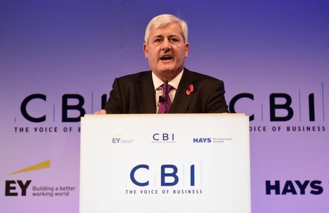 Paul Drechsler, président de la Confederation of British Industry (CBI), le principal syndicat patronal britannique.