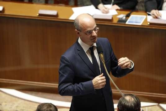 Jean-Michel Blanquer, ministre de l'éducation, le 7novembre, à l'Assemblée nationale.