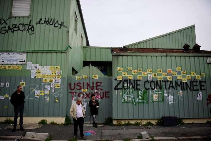 L'usine SNEM à Montreuil.
