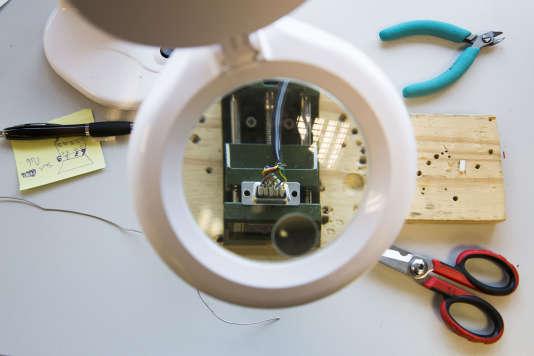 A l'exception des processeurs, mémoires et cellules de batterie lithium-ion venus d'Asie, les composants du robot Diya One sont fabriqués et assemblés en France.