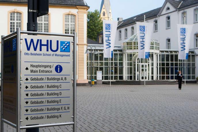 Le campus de la WHU Otto Beisheim School of Management, Vallendar (Rhénanie-Palatinat).
