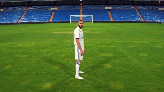 Karim Benzema, tout seul.