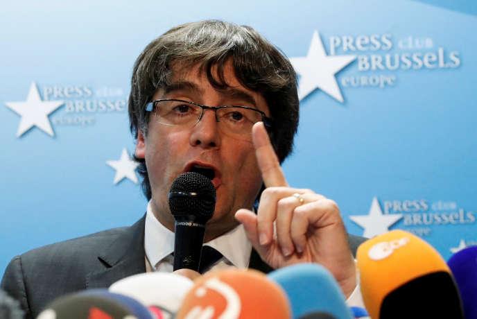 Le président catalan destitué, toujours en Belgique, a assuré au «Soir» être prêt au dialogue avec l'Espagne.
