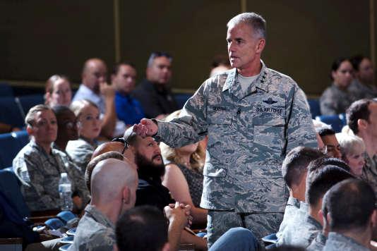 Le général JaySilveria, directeur de l'académie de l'US AirForce à Colorado Springs, en août.
