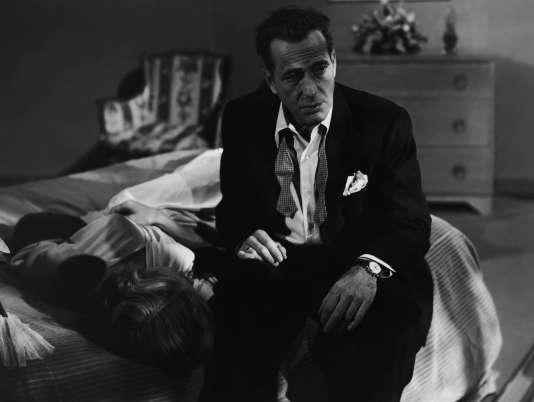 Humphrey Bogart dans« Le Violent».