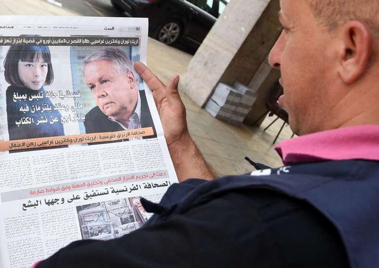 Les photos des deux journalistes incriminés dans un article de presse d'août 2015.