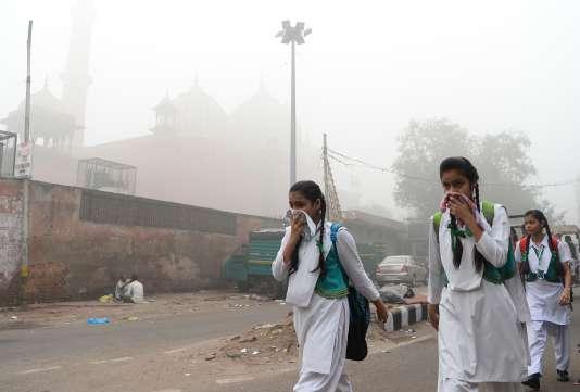 A New Delhi, le 8 novembre.